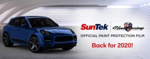 SunTek is the 2020 PPF for Porsche Club of America Club Racing